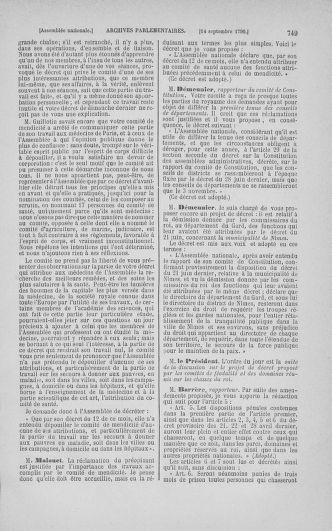 Tome 18 : Du 12 août au 15 septembre 1790 - page 749