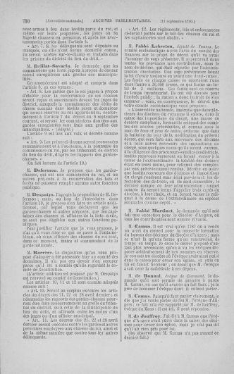 Tome 18 : Du 12 août au 15 septembre 1790 - page 750