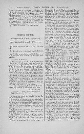 Tome 18 : Du 12 août au 15 septembre 1790 - page 754