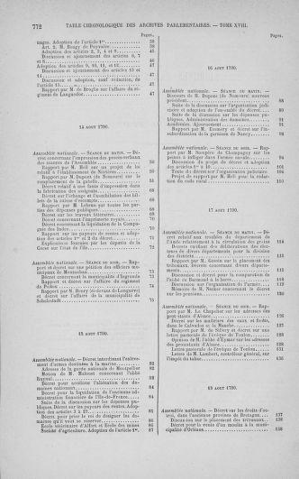 Tome 18 : Du 12 août au 15 septembre 1790 - page 772
