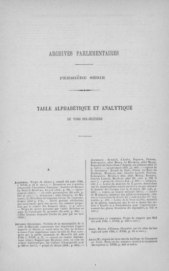 Tome 18 : Du 12 août au 15 septembre 1790 - page ..