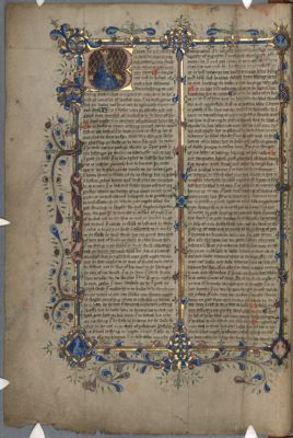 Cambridge, Corpus Christi College, MS 387: Richard Rolle of Hampole, Commentary on the Psalms