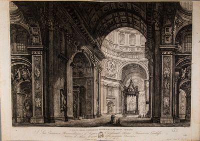 Chiesa di S. Pietro in Vaticano, interno