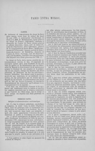 Tome 5 : 1789 – États généraux. Suite des cahiers des sénéchaussées et baillages [Paris (hors les murs) (suite) - Toulon] - page 263