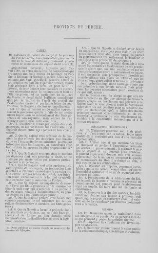Tome 5 : 1789 – États généraux. Suite des cahiers des sénéchaussées et baillages [Paris (hors les murs) (suite) - Toulon] - page 319