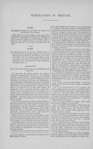 Tome 5 : 1789 – États généraux. Suite des cahiers des sénéchaussées et baillages [Paris (hors les murs) (suite) - Toulon] - page 338