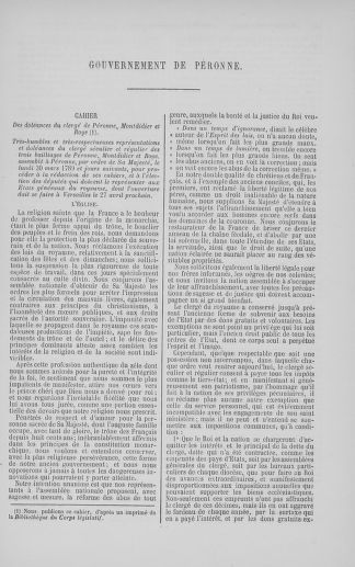 Tome 5 : 1789 – États généraux. Suite des cahiers des sénéchaussées et baillages [Paris (hors les murs) (suite) - Toulon] - page 347