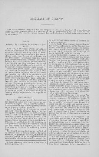 Tome 5 : 1789 – États généraux. Suite des cahiers des sénéchaussées et baillages [Paris (hors les murs) (suite) - Toulon] - page 503