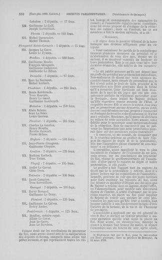 Tome 5 : 1789 – États généraux. Suite des cahiers des sénéchaussées et baillages [Paris (hors les murs) (suite) - Toulon] - page 510