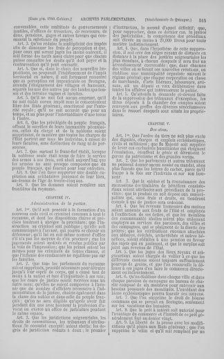 Tome 5 : 1789 – États généraux. Suite des cahiers des sénéchaussées et baillages [Paris (hors les murs) (suite) - Toulon] - page 515