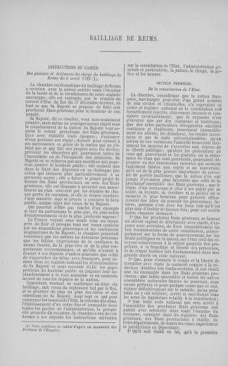 Tome 5 : 1789 – États généraux. Suite des cahiers des sénéchaussées et baillages [Paris (hors les murs) (suite) - Toulon] - page 520