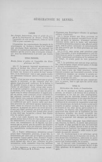 Tome 5 : 1789 – États généraux. Suite des cahiers des sénéchaussées et baillages [Paris (hors les murs) (suite) - Toulon] - page 538