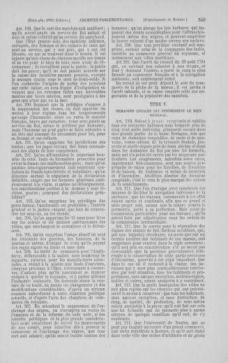Tome 5 : 1789 – États généraux. Suite des cahiers des sénéchaussées et baillages [Paris (hors les murs) (suite) - Toulon] - page 549