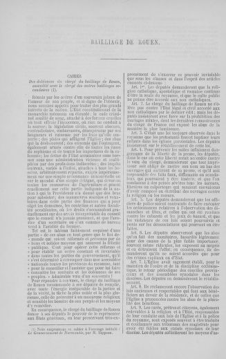 Tome 5 : 1789 – États généraux. Suite des cahiers des sénéchaussées et baillages [Paris (hors les murs) (suite) - Toulon] - page 590