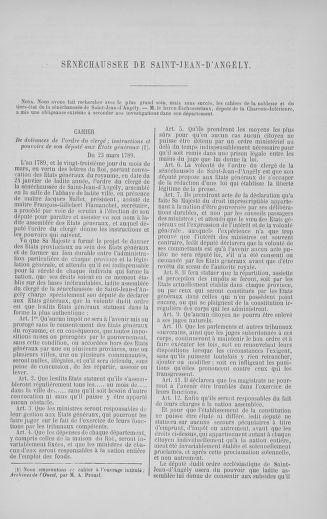 Tome 5 : 1789 – États généraux. Suite des cahiers des sénéchaussées et baillages [Paris (hors les murs) (suite) - Toulon] - page 633