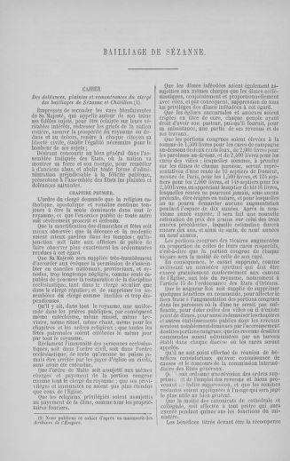 Tome 5 : 1789 – États généraux. Suite des cahiers des sénéchaussées et baillages [Paris (hors les murs) (suite) - Toulon] - page 762