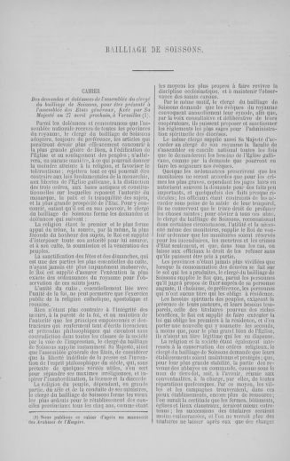 Tome 5 : 1789 – États généraux. Suite des cahiers des sénéchaussées et baillages [Paris (hors les murs) (suite) - Toulon] - page 768