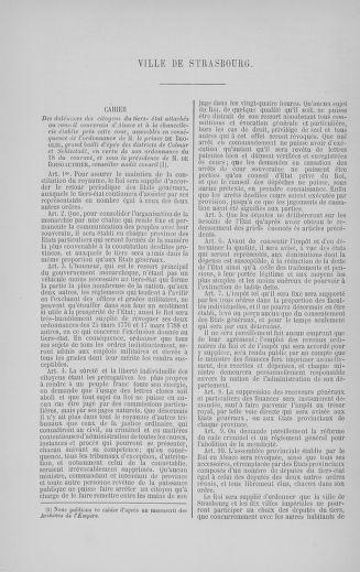 Tome 5 : 1789 – États généraux. Suite des cahiers des sénéchaussées et baillages [Paris (hors les murs) (suite) - Toulon] - page 784