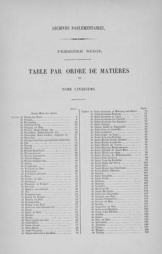 Tome 5 : 1789 – États généraux. Suite des cahiers des sénéchaussées et baillages [Paris (hors les murs) (suite) - Toulon] - page 792