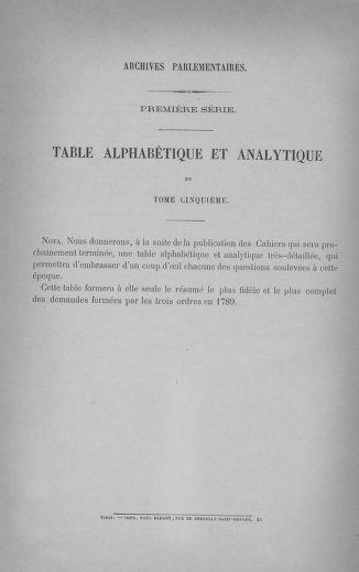 Tome 5 : 1789 – États généraux. Suite des cahiers des sénéchaussées et baillages [Paris (hors les murs) (suite) - Toulon] - page 796