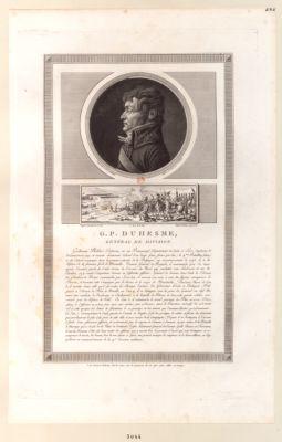 G.P. Duhesme, général de division [estampe]