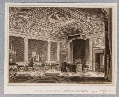 Palazzo del Quirinale. Interno, Sala di Udienze