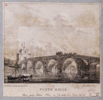 Ponte Milvio, veduta generale dalla riva sinistra