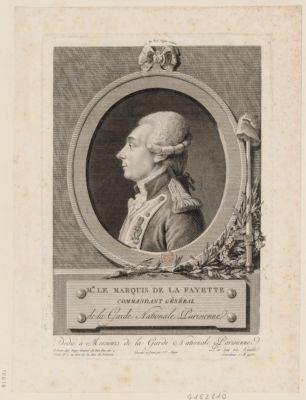 Mr le marquis de La Fayette commandant général de la Garde nationale parisienne : [estampe]
