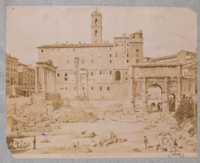 Tabulario e monumenti antistanti