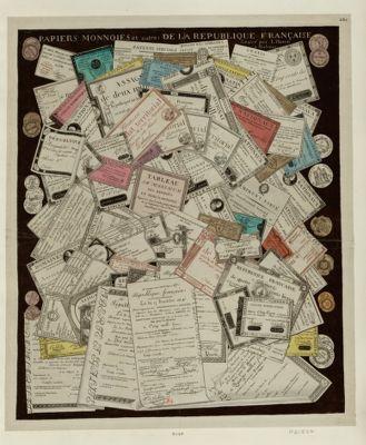 Papiers monnoies <em>et</em> autres de la République française [estampe]