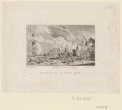 <em>Journée</em> du <em>10</em> août <em>1792</em> [estampe]