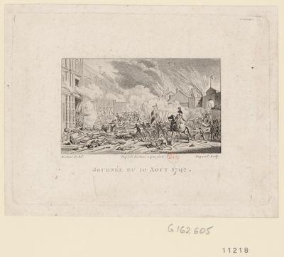 Journée du 10 août 1792 [estampe]