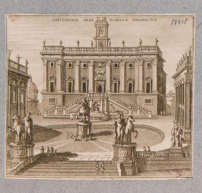 Campidoglio, piazzale e Palazzo Senatorio