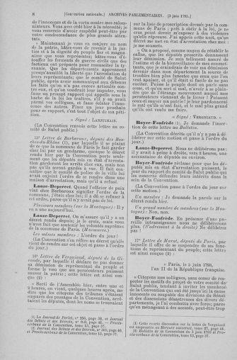 Tome 66 : Du 3 au 19 juin 1793 - page 8