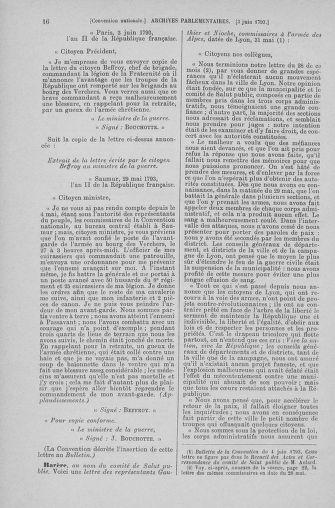 Tome 66 : Du 3 au 19 juin 1793 - page 16