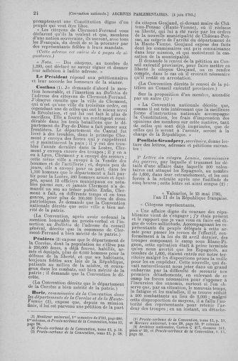 Tome 66 : Du 3 au 19 juin 1793 - page 24