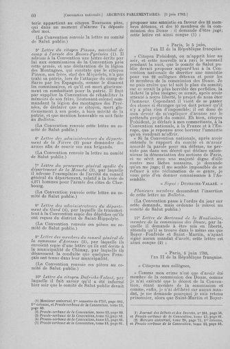Tome 66 : Du 3 au 19 juin 1793 - page 60