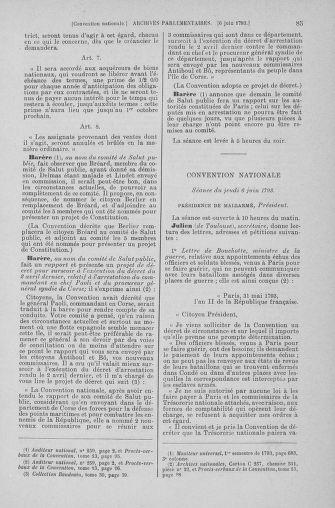Tome 66 : Du 3 au 19 juin 1793 - page 85