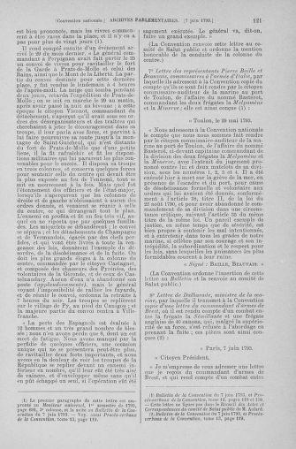 Tome 66 : Du 3 au 19 juin 1793 - page 121