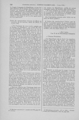 Tome 66 : Du 3 au 19 juin 1793 - page 122