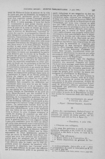 Tome 66 : Du 3 au 19 juin 1793 - page 147