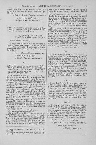 Tome 66 : Du 3 au 19 juin 1793 - page 149