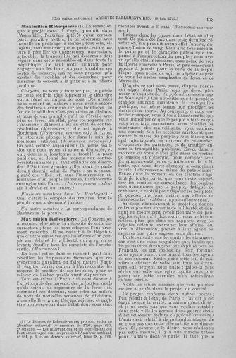 Tome 66 : Du 3 au 19 juin 1793 - page 173