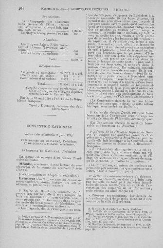 Tome 66 : Du 3 au 19 juin 1793 - page 204