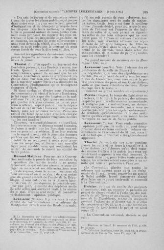 Tome 66 : Du 3 au 19 juin 1793 - page 205