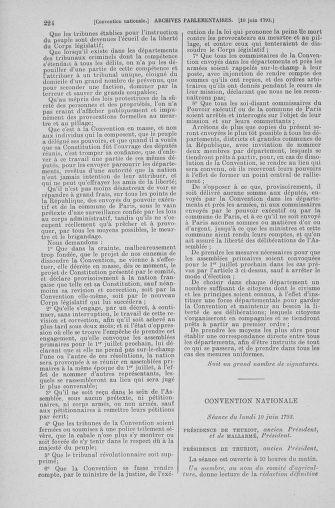Tome 66 : Du 3 au 19 juin 1793 - page 224