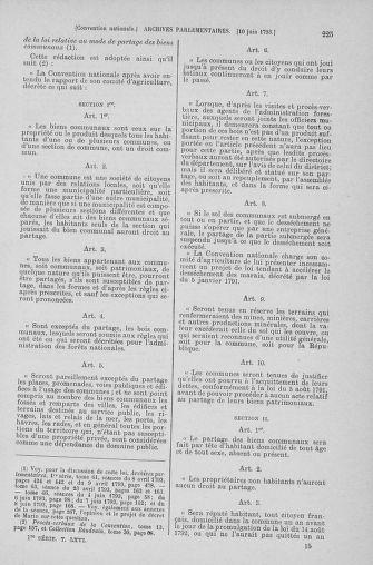 Tome 66 : Du 3 au 19 juin 1793 - page 225