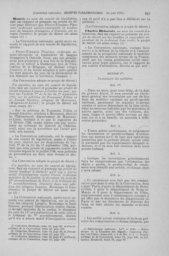 Tome 66 : Du 3 au 19 juin 1793 - page 245