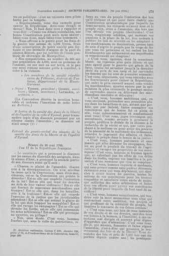 Tome 66 : Du 3 au 19 juin 1793 - page 271