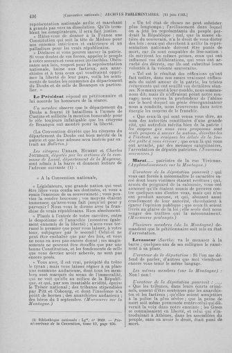 Tome 66 : Du 3 au 19 juin 1793 - page 436